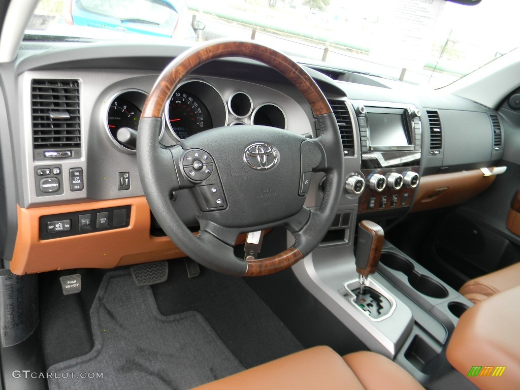 red rock interior 2012 toyota tundra platinum crewmax 4x4 photo 59992932