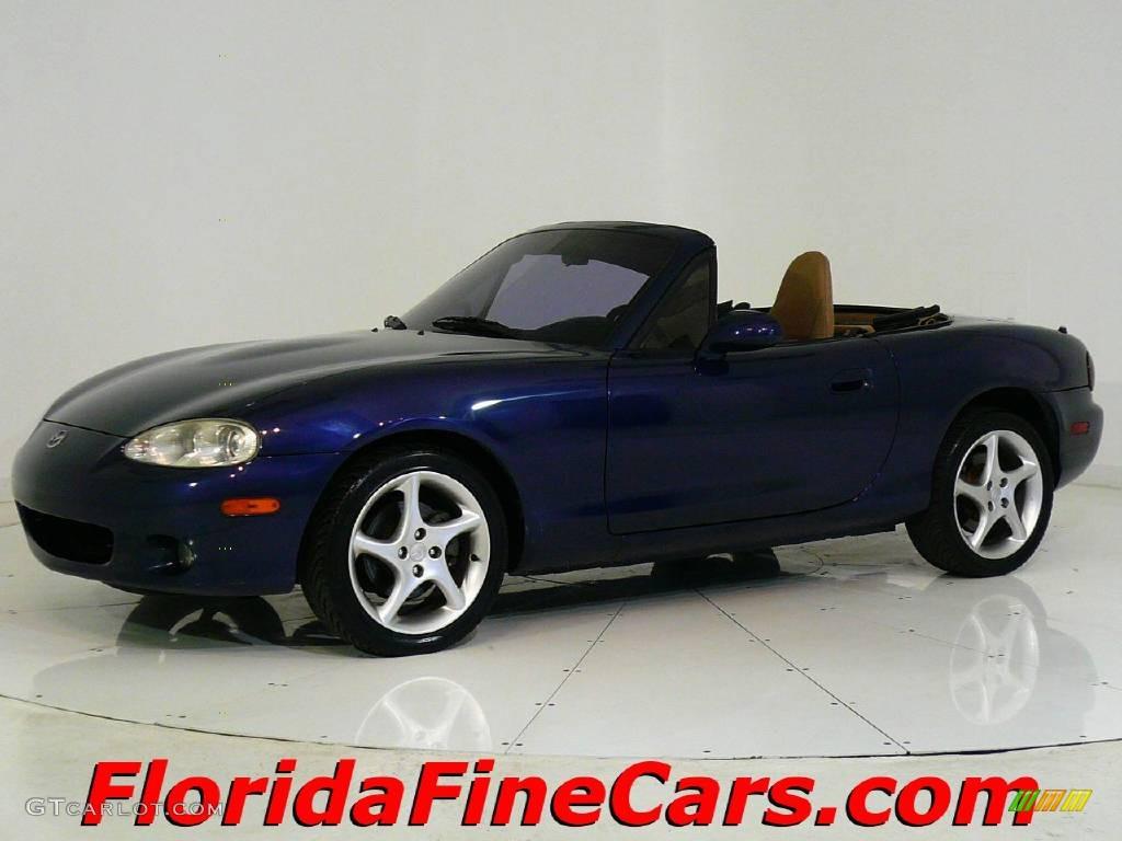 2001 Midnight Blue Mica Mazda Mx 5 Miata Ls Roadster 544067