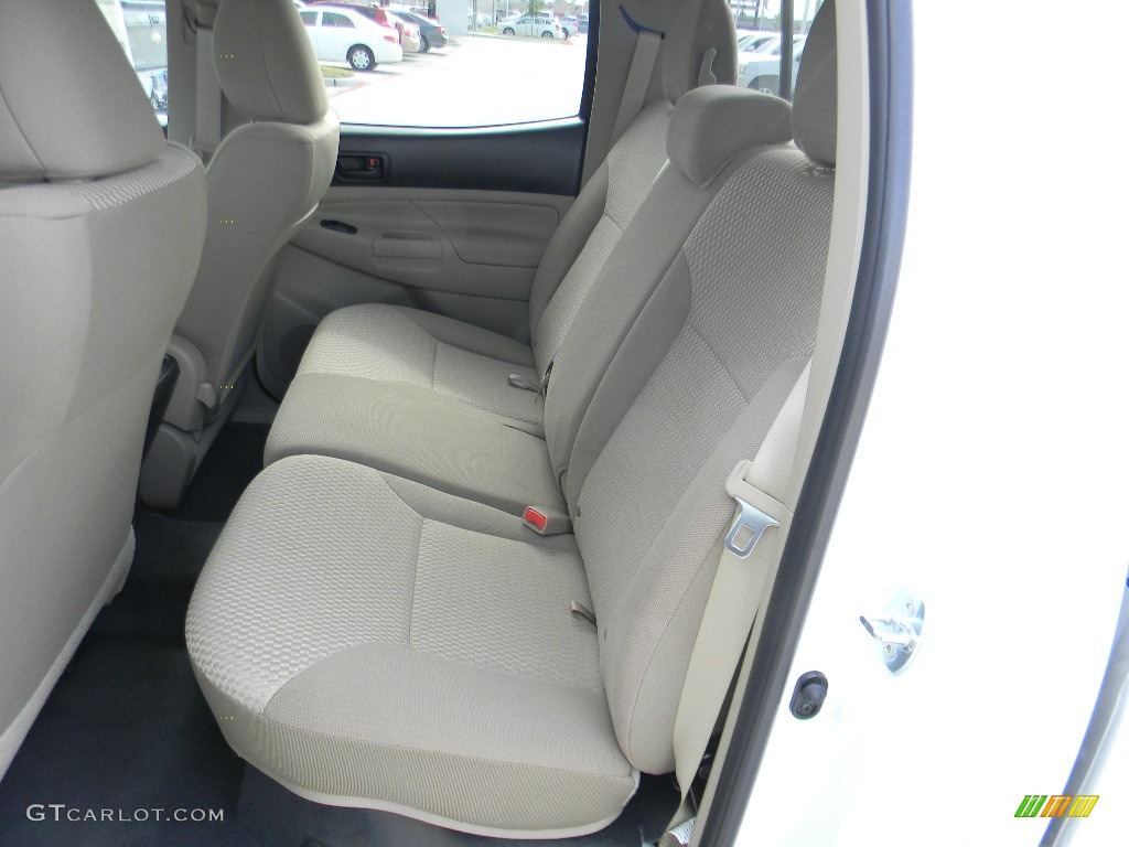 2012 Toyota Tacoma Prerunner Double Cab Rear Seat Photo 59993922