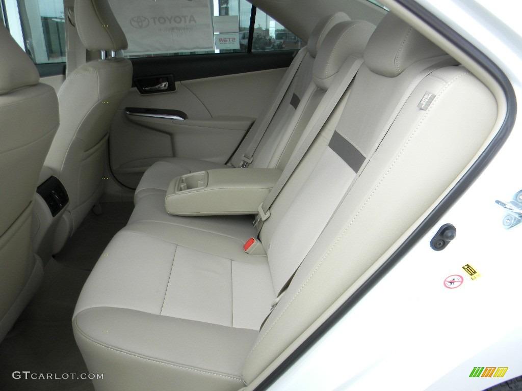 Ivory Interior 2012 Toyota Camry Xle V6 Photo 59994049