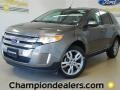 Mineral Grey Metallic 2012 Ford Edge SEL