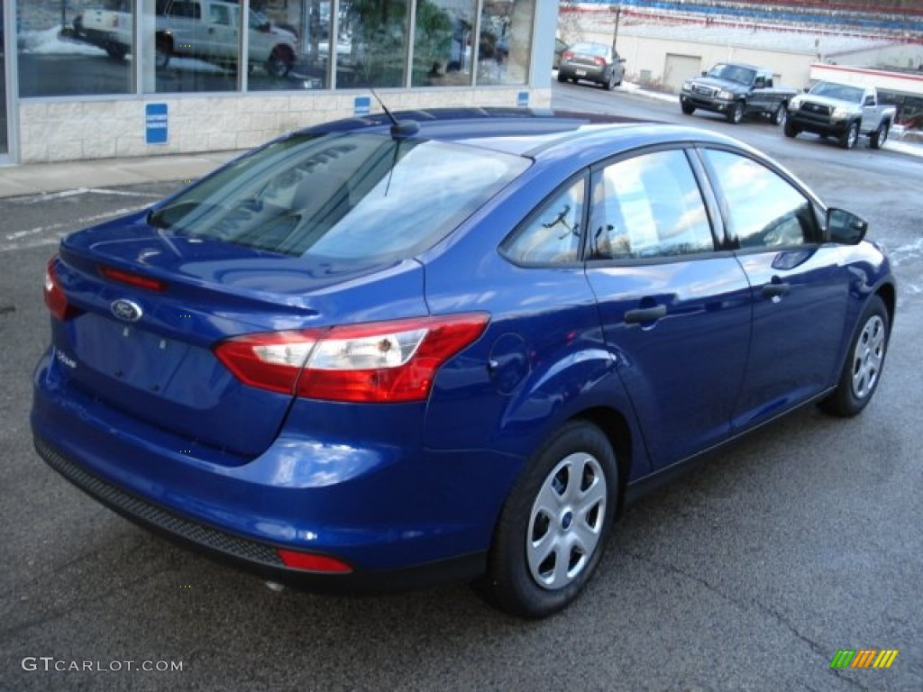 2012 Focus Color Code SN for Sonic Blue Metallic Photo ...