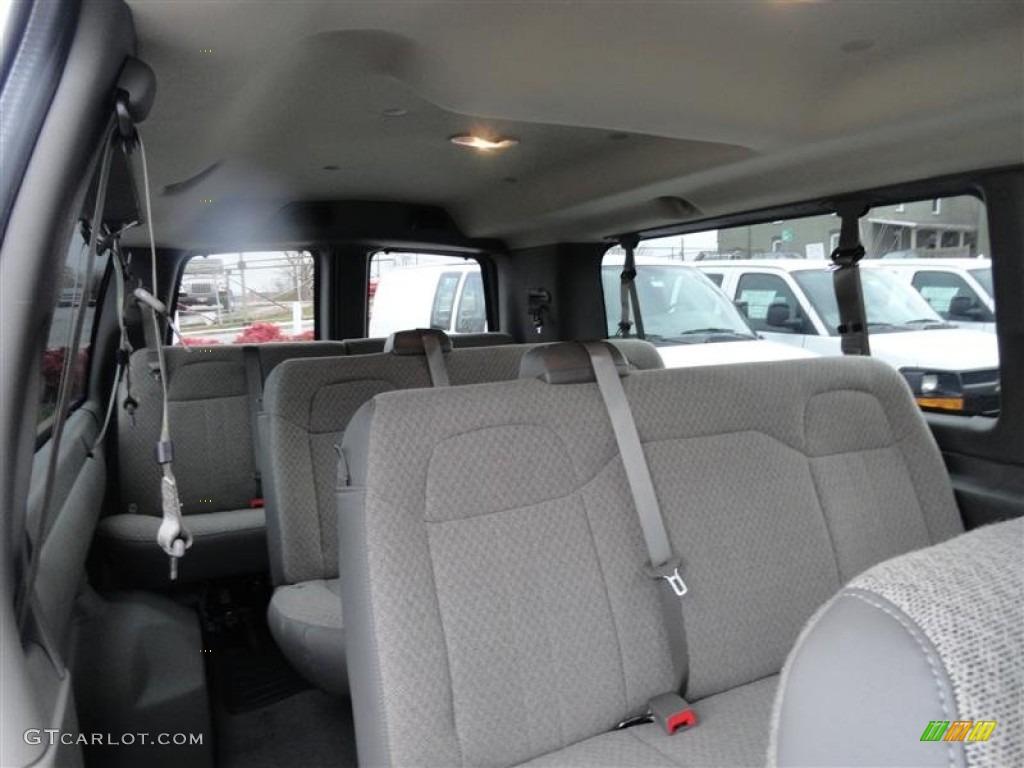 2012 Chevrolet Express Lt 3500 Passenger Van Interior