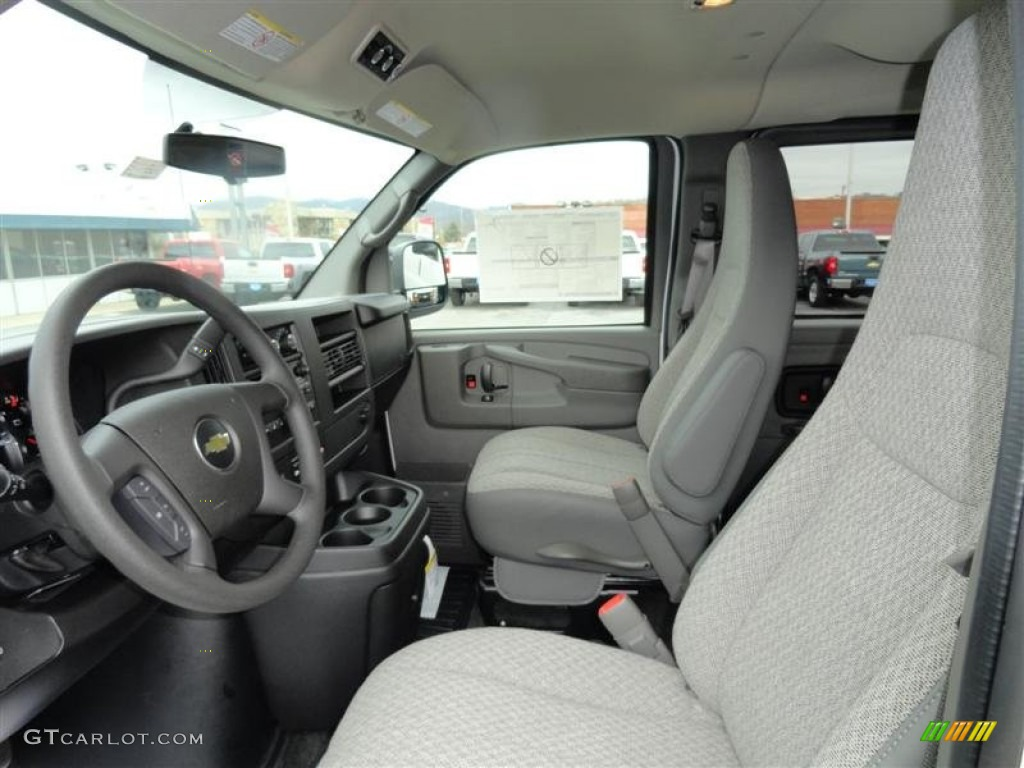 2012 chevrolet express lt 3500 passenger van interior photo 60014089