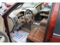 2005 Ford F150 Castano Brown Leather Interior Interior Photo