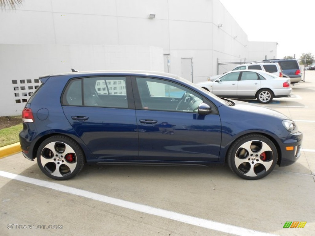 shadow blue metallic 2012 volkswagen gti 4 door exterior. Black Bedroom Furniture Sets. Home Design Ideas