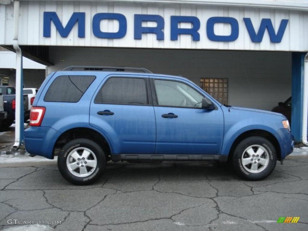 2009 Escape XLT 4WD - Sport Blue Metallic / Stone photo #1