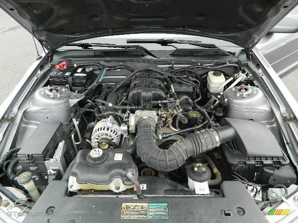 2006 ford mustang v6 premium convertible 4 0 liter sohc 12. Black Bedroom Furniture Sets. Home Design Ideas