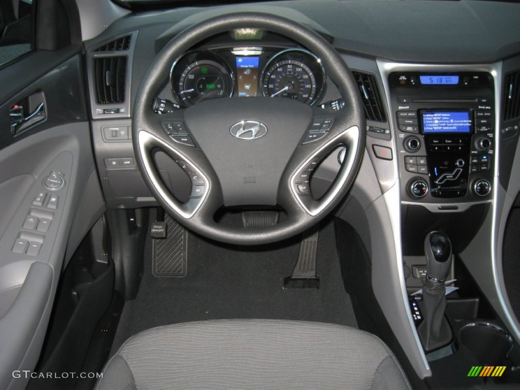 2012 Hyundai Sonata Hybrid Interior Photo 60028475