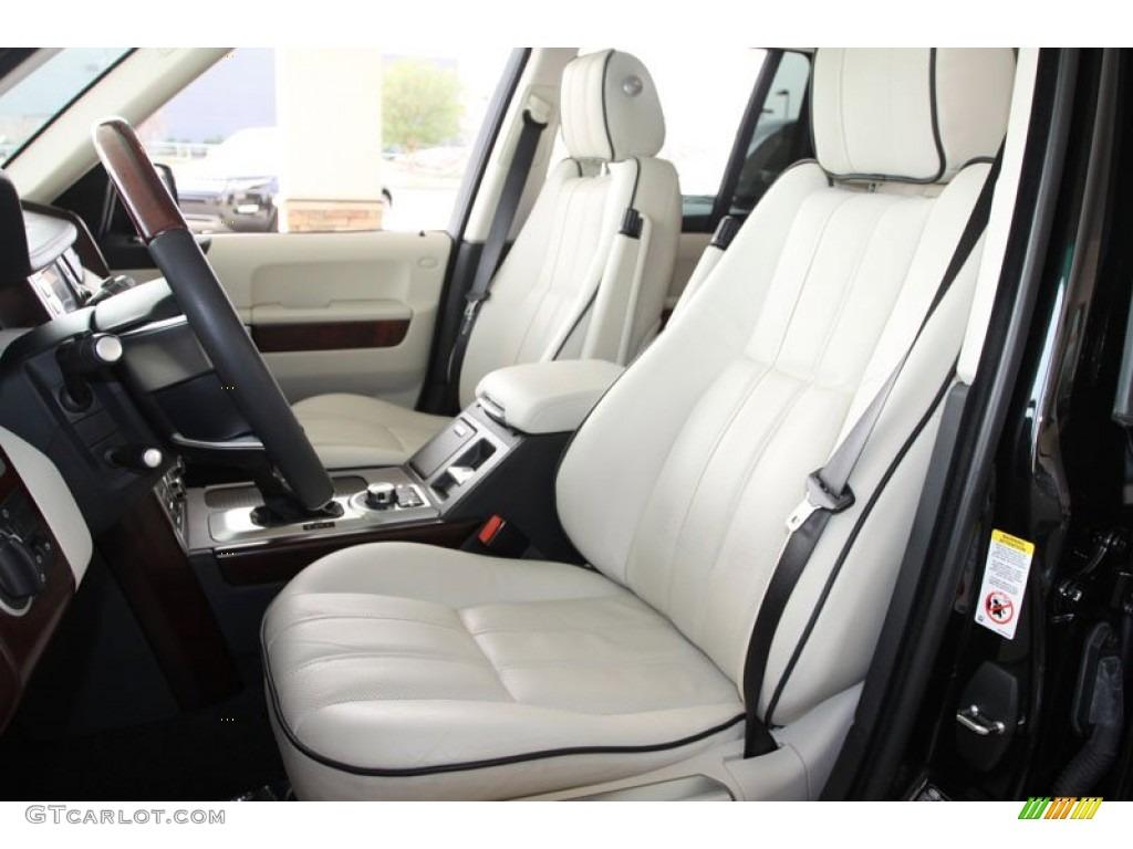 Ivory White Jet Black Interior 2010 Land Rover Range Rover Hse Photo 60030863