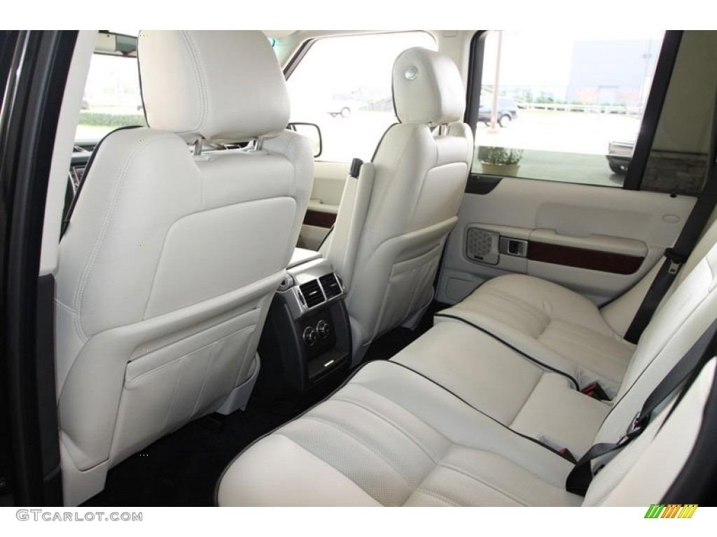 Ivory White Jet Black Interior 2010 Land Rover Range Rover Hse Photo 60030965