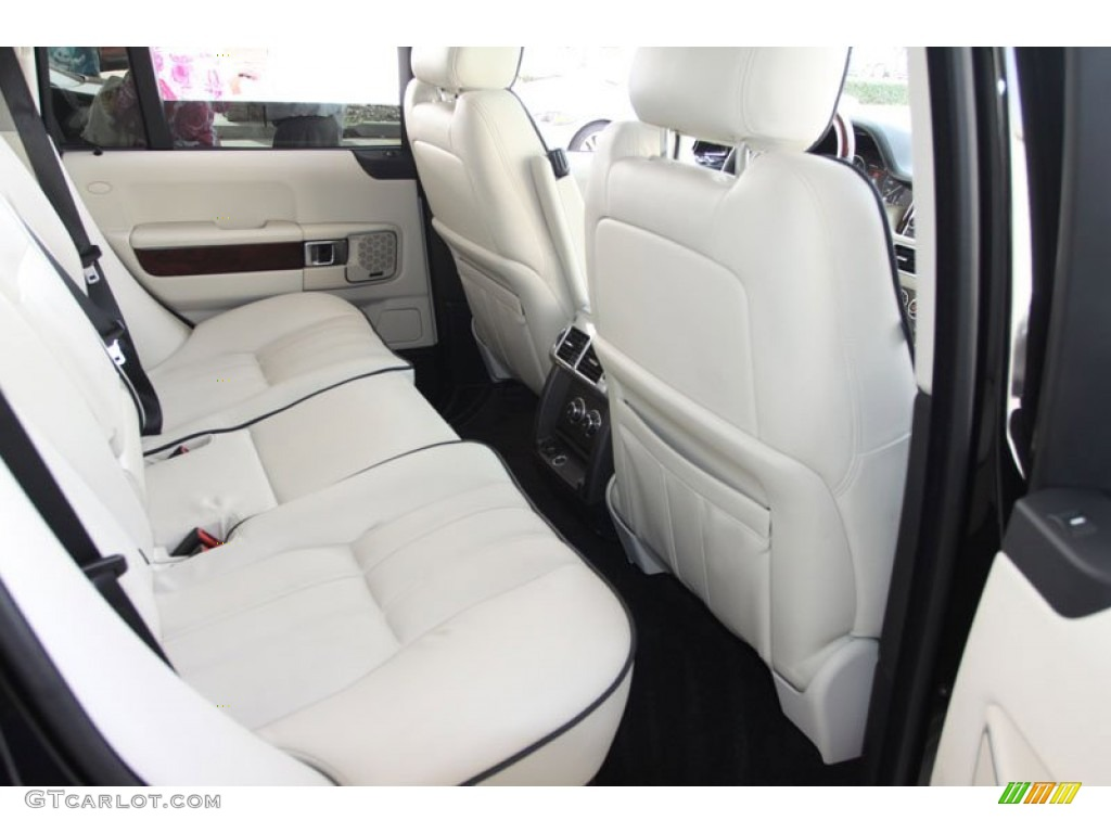Ivory White Jet Black Interior 2010 Land Rover Range Rover Hse Photo 60031253