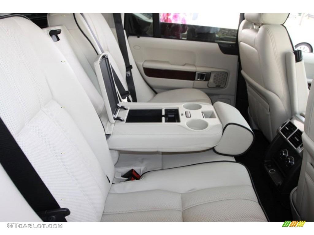 ivory white jet black interior 2010 land rover range rover hse photo 60031265. Black Bedroom Furniture Sets. Home Design Ideas