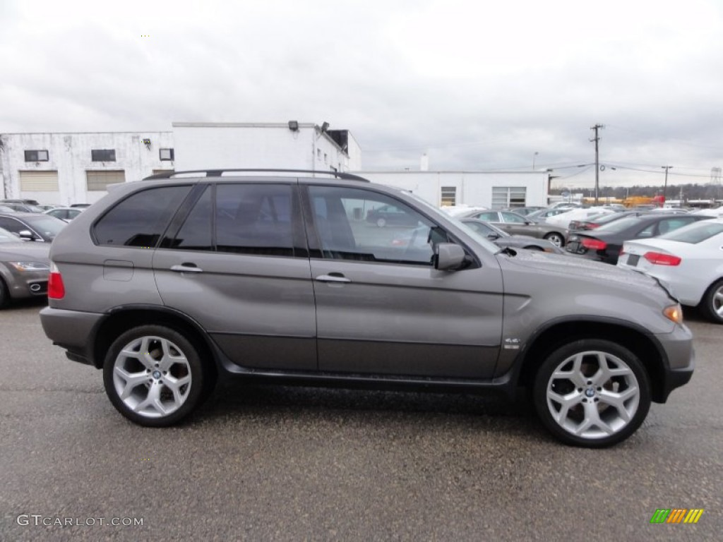 Sterling Grey Metallic 2006 Bmw X5 4 4i Exterior Photo