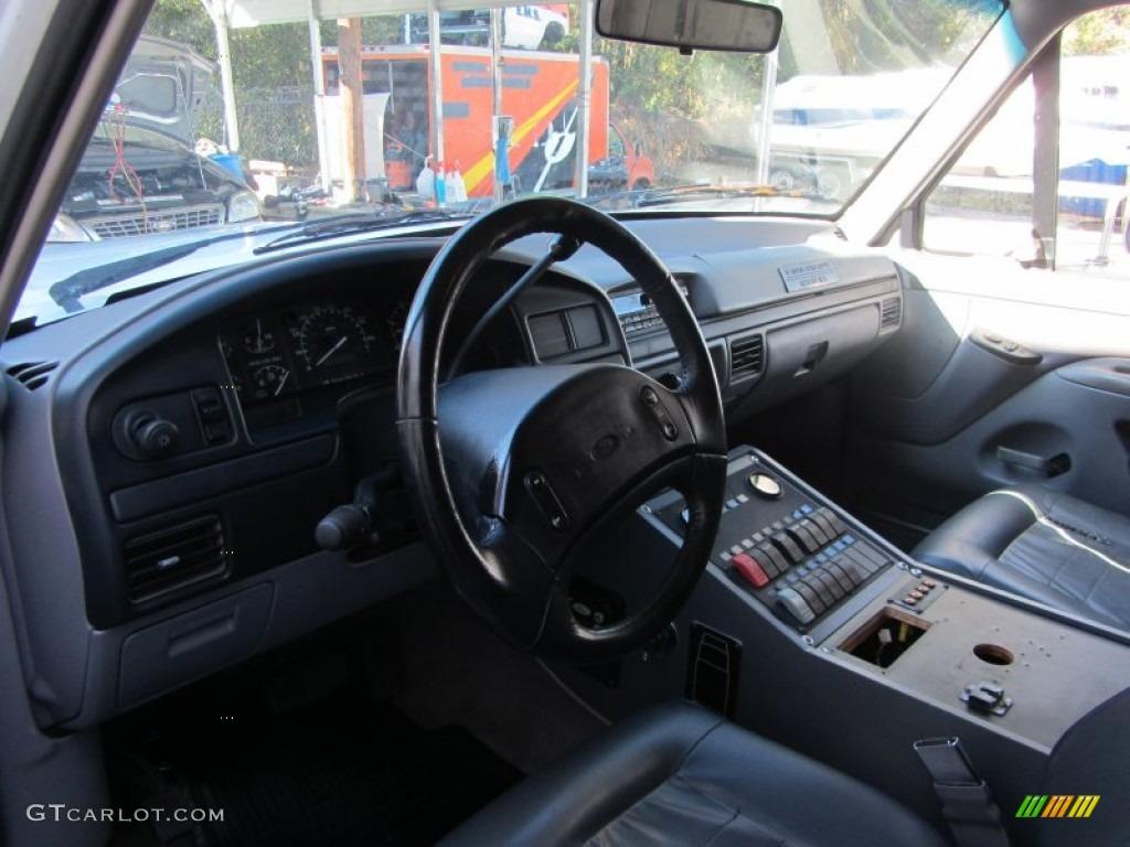 Opal Grey Interior 1997 Ford F350 XLT Regular Cab ...
