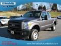 2012 Sterling Grey Metallic Ford F250 Super Duty XL SuperCab 4x4  photo #2