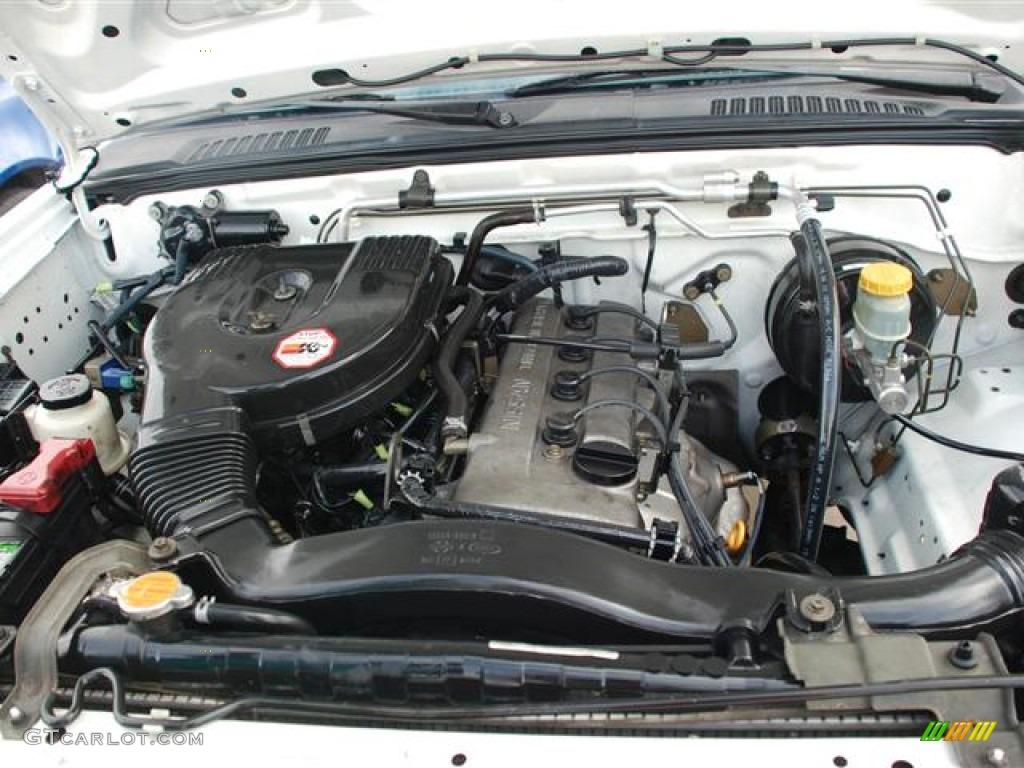 on 2004 Nissan Xterra Xe