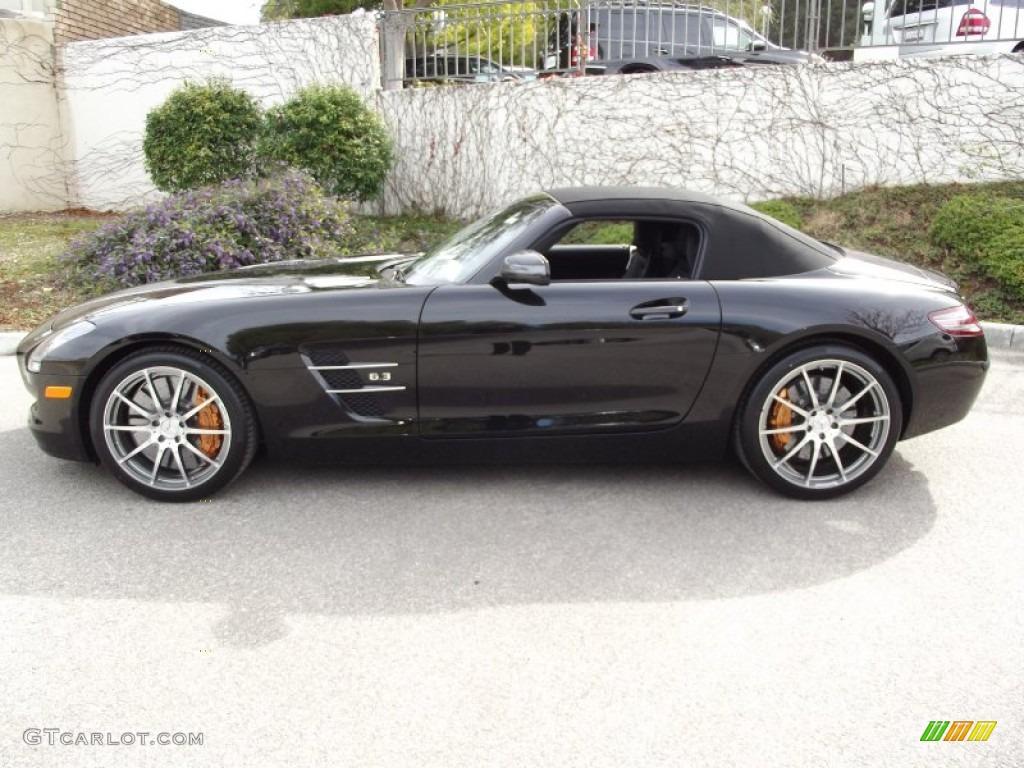 Sls Amg Roadster Black Sls Amg Roadster Exterior