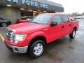 Vermillion Red 2011 Ford F150 Gallery