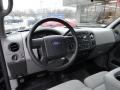 2007 F150 STX Regular Cab 4x4 Medium Flint Interior