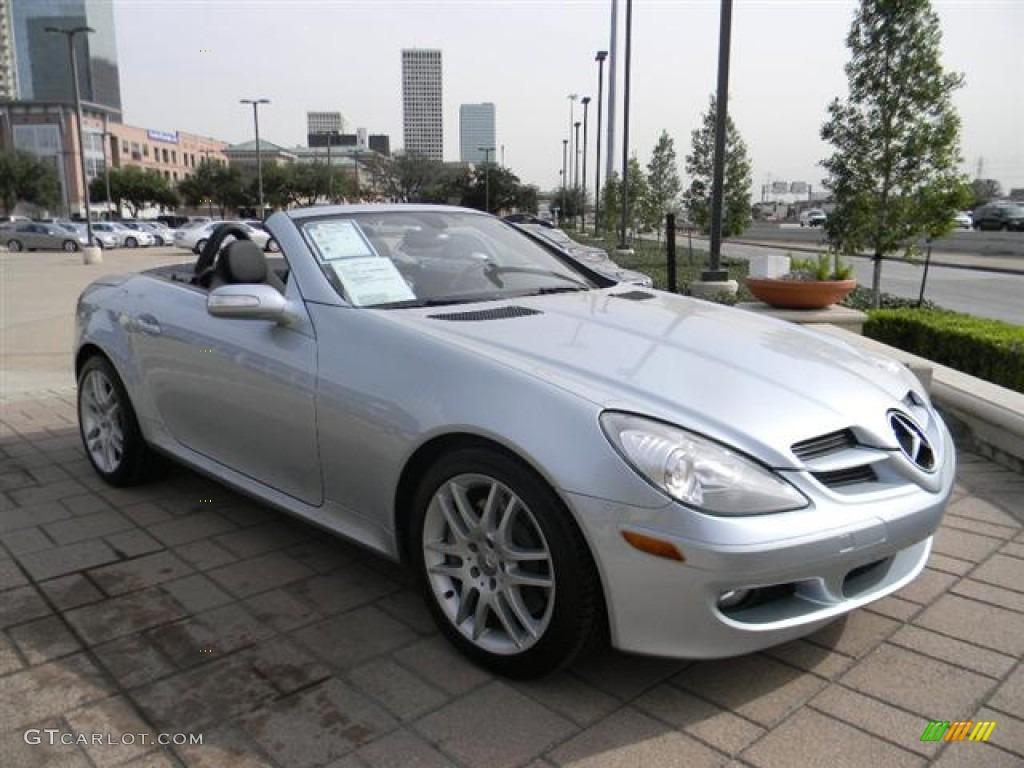 Diamond silver metallic 2007 mercedes benz slk 350 roadster exterior photo 60086409 gtcarlot com