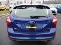 2012 Sonic Blue Metallic Ford Focus Titanium 5-Door  photo #4