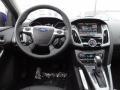 2012 Sonic Blue Metallic Ford Focus Titanium 5-Door  photo #13