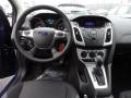 2012 Sonic Blue Metallic Ford Focus SE Sedan  photo #9