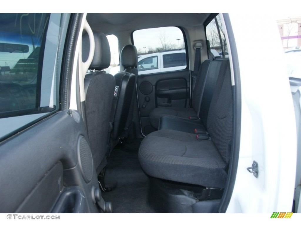 2002 Ram 1500 SLT Quad Cab 4x4 - Bright White / Dark Slate Gray photo #11