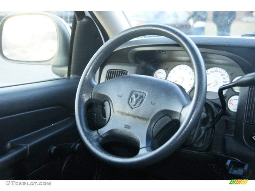 2002 Ram 1500 SLT Quad Cab 4x4 - Bright White / Dark Slate Gray photo #20