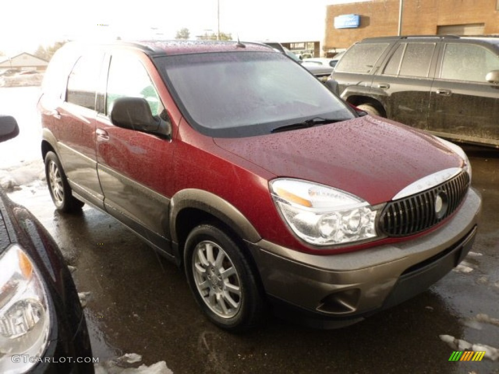 Co color cardinal red - 2005 Rendezvous Cx Awd Cardinal Red Metallic Light Neutral Photo 1