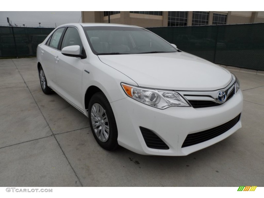 Blue Pearl Clearwater >> 2012 Super White Toyota Camry Hybrid LE #60045358 ...