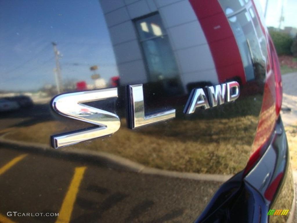 2007 Murano SL AWD - Super Black / Charcoal photo #6