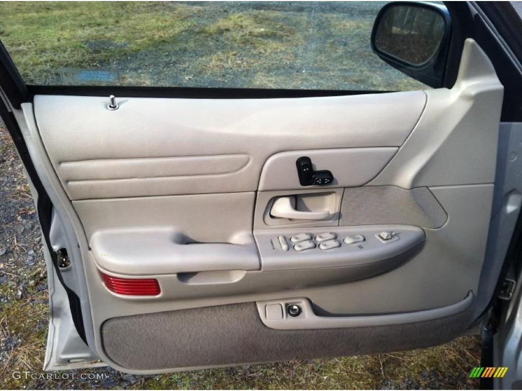 1998 Ford Crown Victoria Lx Sedan Light Graphite Door Panel Photo 60130104
