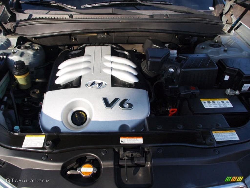 2007 Hyundai Santa Fe Se 3 3 Liter Dohc 24 Valve V6 Engine Photo 60135102 Gtcarlot Com