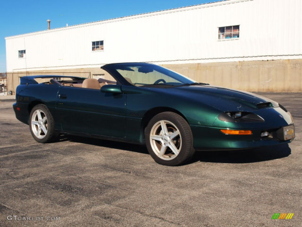 1995 Polo Green Metallic Chevrolet Camaro Z28 Convertible ...
