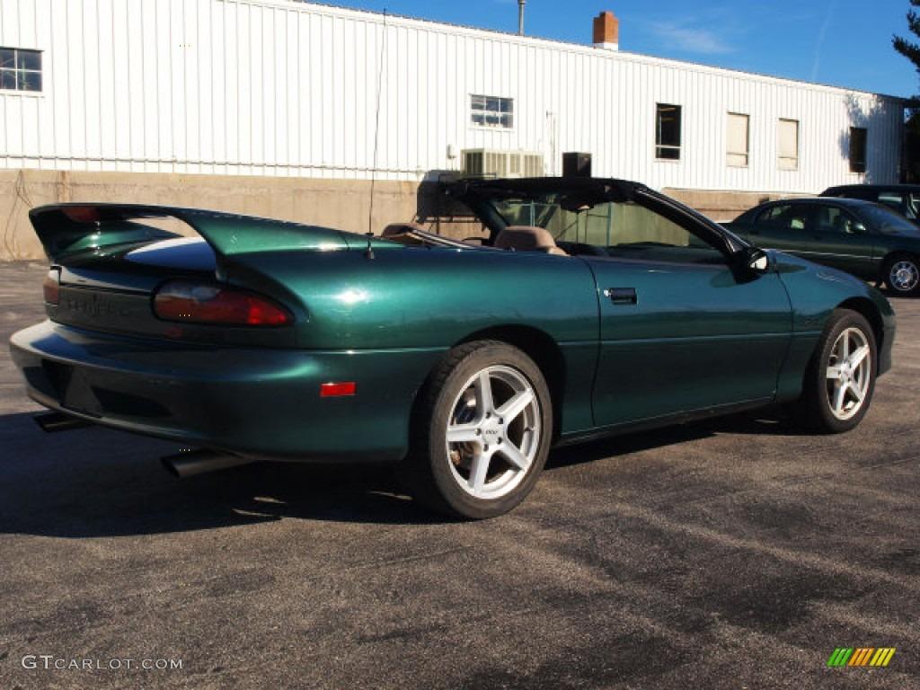 1995 Polo Green Metallic Chevrolet Camaro Z28 Convertible 60111095 Photo 2