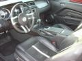 Charcoal Black/Cashmere 2010 Ford Mustang Interiors