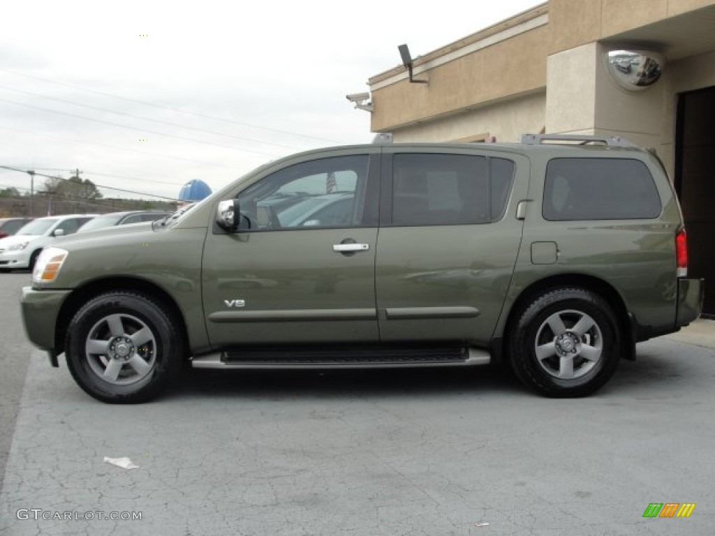 2005 canteen green nissan armada se 60111509 photo 4 car color galleries. Black Bedroom Furniture Sets. Home Design Ideas