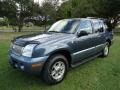 Medium Wedgewood Blue Metallic 2002 Mercury Mountaineer AWD