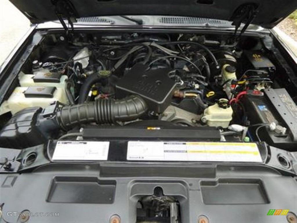 2001 Ford Explorer Sport Engine Photos