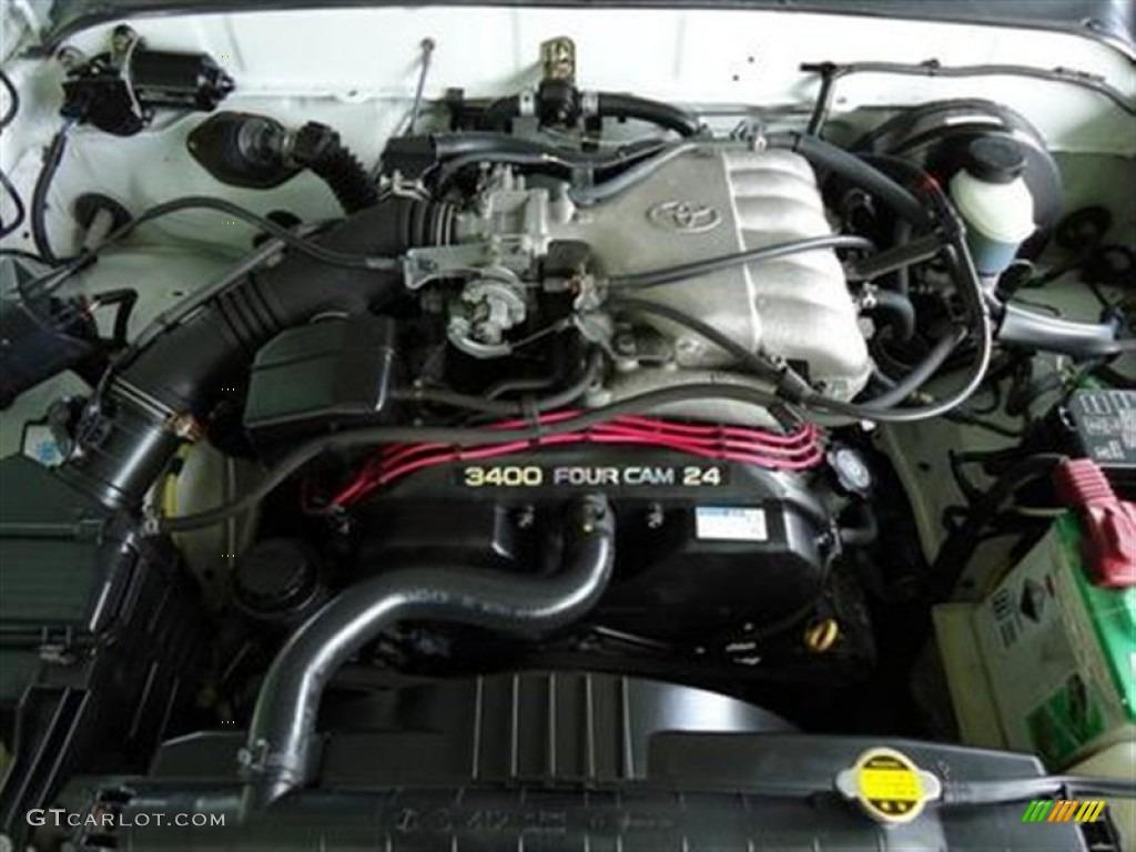 2002 Toyota Tacoma V6 Prerunner Double Cab Engine Photos