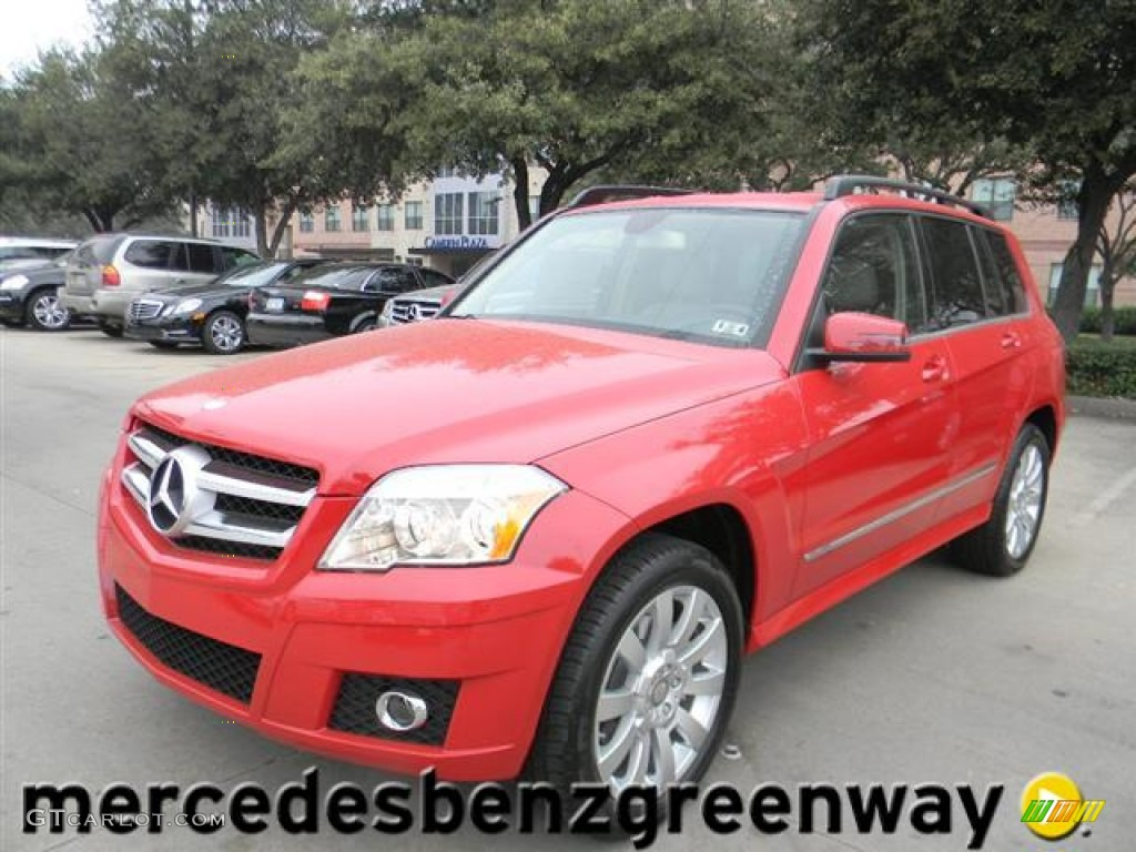 2012 Mars Red Mercedes Benz Glk 350 60110968 Gtcarlot