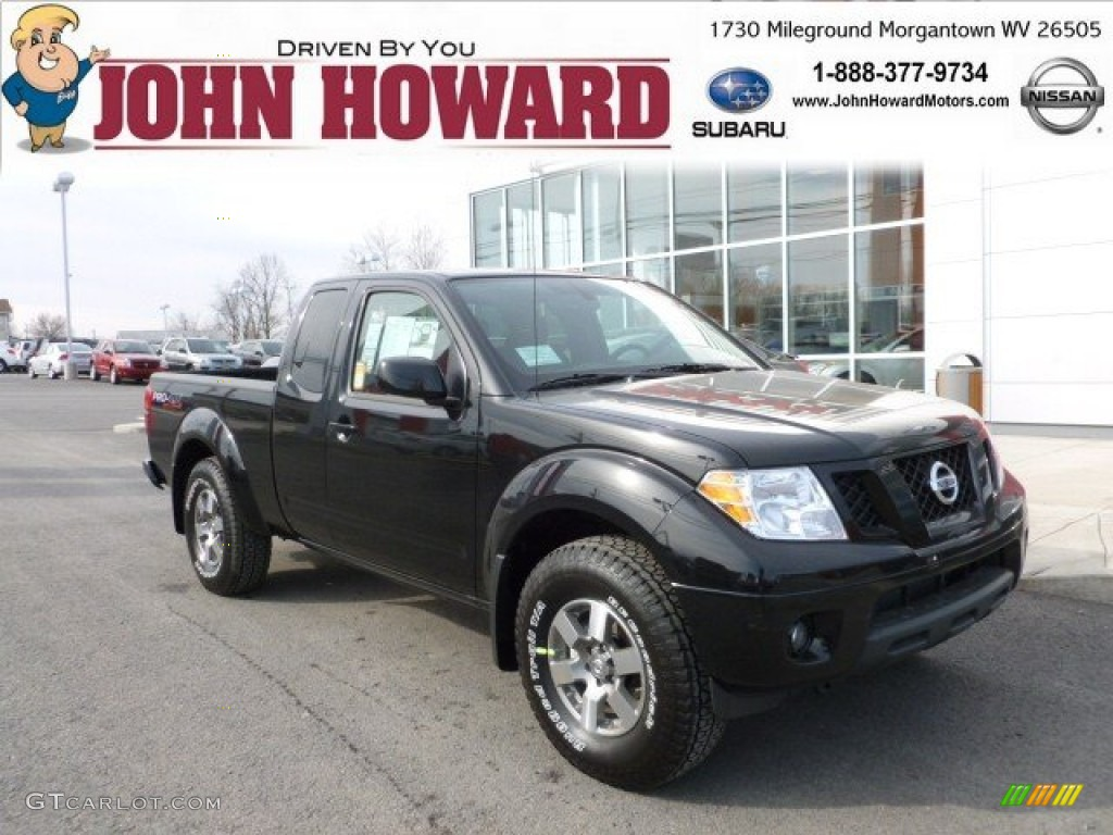 2012 super black nissan frontier pro 4x king cab 4x4 60111821 2012 frontier pro 4x king cab 4x4 super black pro 4x graphite vanachro Image collections
