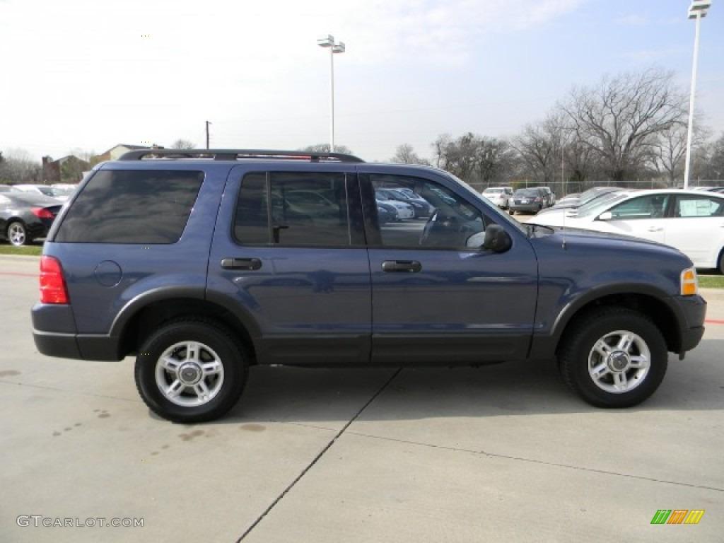 Medium Wedgewood Blue Metallic 2003 Ford Explorer Xlt