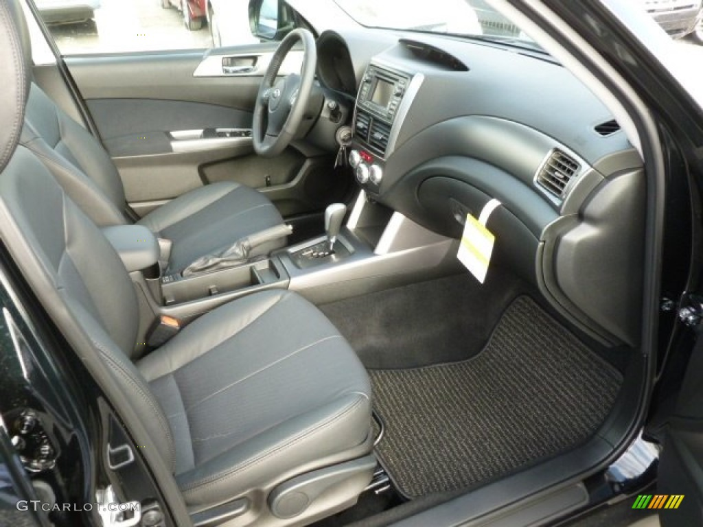 Black Interior 2012 Subaru Forester 2 5 X Limited Photo 60168366