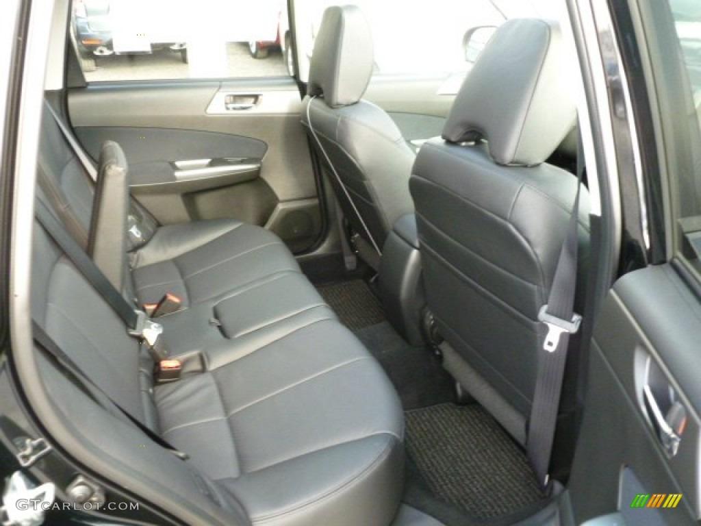Black Interior 2012 Subaru Forester 2 5 X Limited Photo 60168384