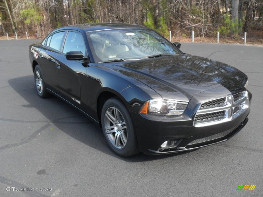 pitch black 2012 dodge charger sxt exterior photo. Black Bedroom Furniture Sets. Home Design Ideas