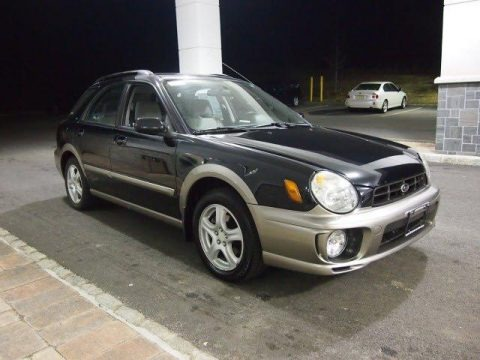 2002 Subaru Impreza Outback Sport Wagon Data Info And Specs