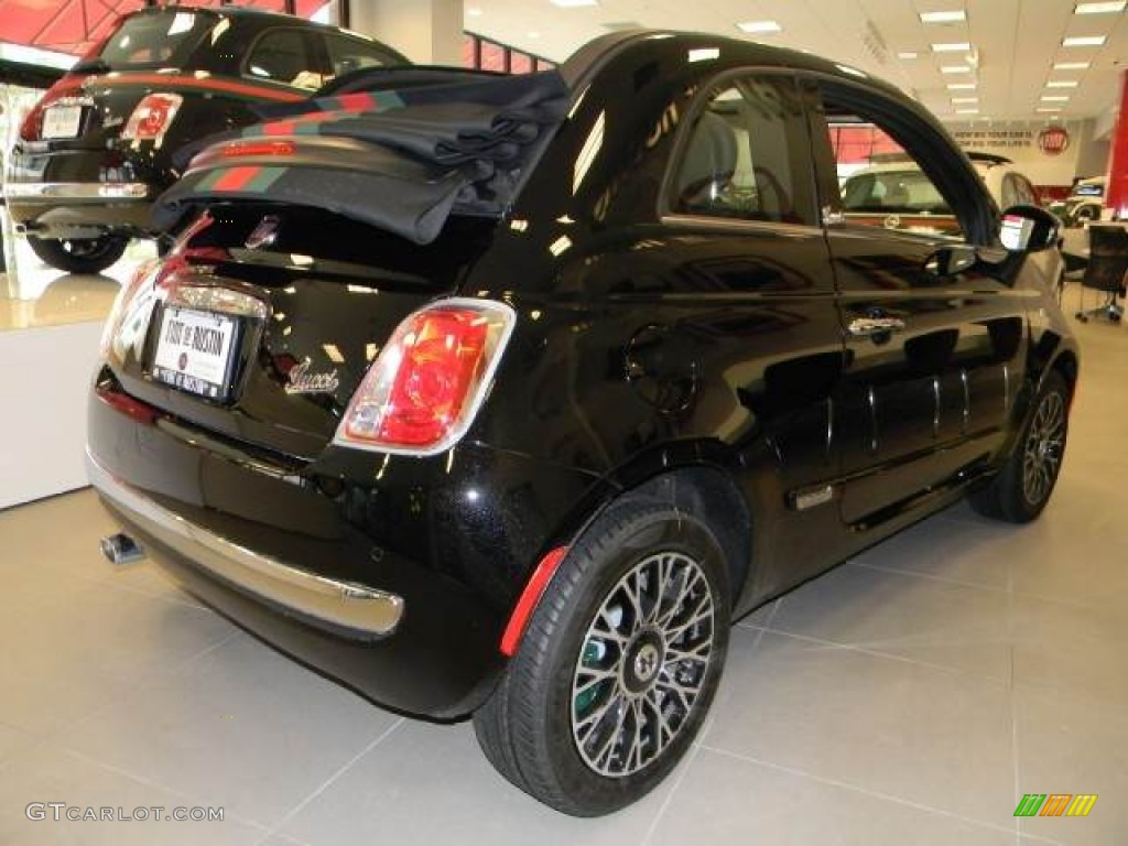 2012 gucci nero black fiat 500 c cabrio gucci 60181912 photo 2 car color. Black Bedroom Furniture Sets. Home Design Ideas